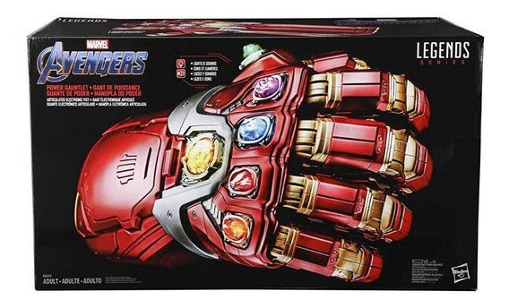 Marvel Legends Serie Endgame Power Gauntlet Articulado Elect