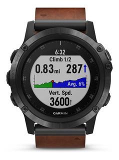 Smartwatch Garmin Fenix 5x Plus Zafiro Malla Cuero Tienda Of