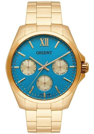 Relógio Orient Feminino Fgssm050 Visor Azul Original