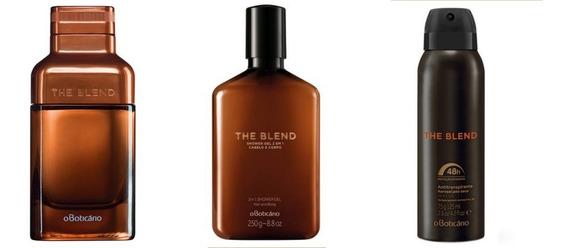 Kit The Blend Eau De Parfum, Desod. E Shower Gel Boticário