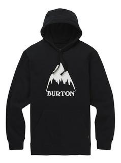 Buzo Hoddie Burton Mtn Logo Blacked Ski Snow Urbano