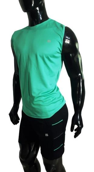 Short Y Musculosa Hidrowick Hombre En Conjunto Etnia Sport