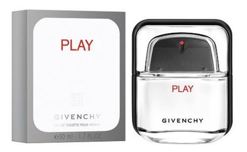 Givenchy Play Edt 50ml Para Ellos Importado Original