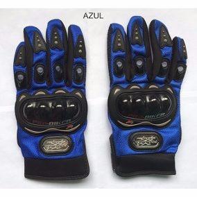 Luva Motociclista Pro-biker Azul - Tamanho Xl