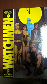 Hq Graphic Novel Watchmen - Em Inglês (raríssimo)