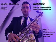 Show Musical Saxo Fiestas Casamientos Cumpleaños Eventos