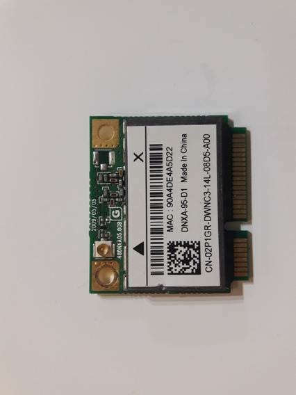 Placa Wifi Para Notebook Dell Inspiron M5030 (dnxa-95-d1)