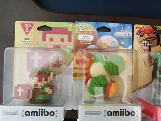 Amiibos Zelda, Link, Breath Of The Wild, The Legend Of Zelda