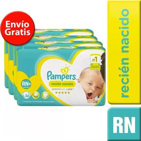 4 Paquetes Pañales (144u.) Pampers Recien Nacidos Rn+