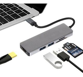 Usb C Adaptador Macbook Pro Air Hdmi Usb Sd