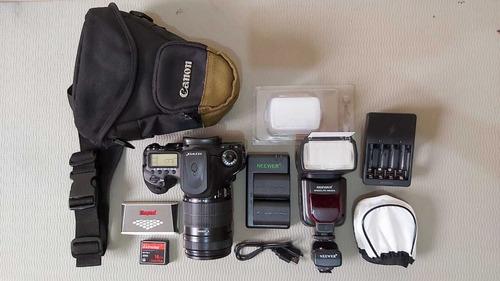 Cámara Canon 7d + Lente Canon + Accesorios!