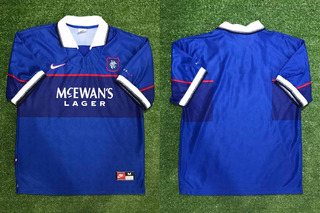 Camisa Glasgow Rangers 1997-99