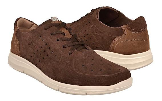 Zapatos Casuales Para Caballero Flexi 47514 Chocolate