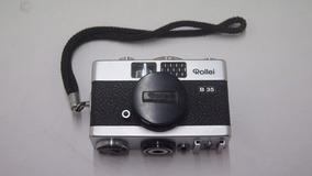 Câmera Máquina Fotográfica Rollei 35 -raridade