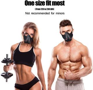 Training Mask Mascara Elevación Mma Crossfit 3 Niveles