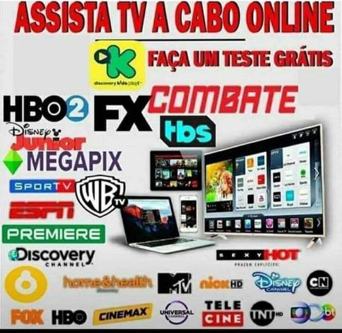 Imagem 1 de 2 de Tv A Cabo Pela Internet