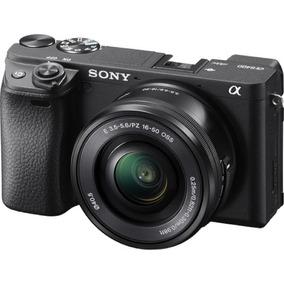Câmera Sony Mirrorless Alpha A6400 + 16-50mm Garantia Sjuros