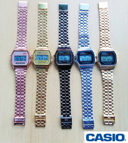 Kit Com 5 Relógios Vintage Unissex Atacado!