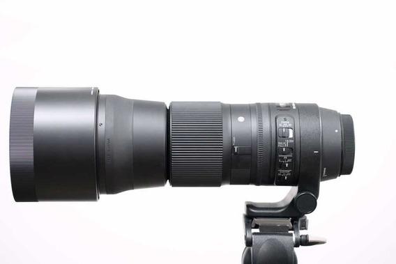 Sigma 150-600mm F/5-6.3 Dg Os Hsm Contemporary P/ Canon