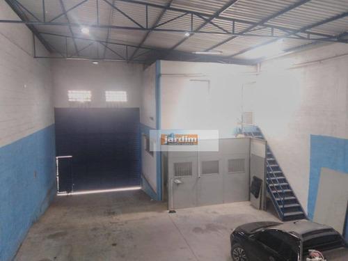 Imagem 1 de 11 de Galpão, 300 M² - Venda Ou Aluguel - Utinga - Santo André/sp - Ga0308