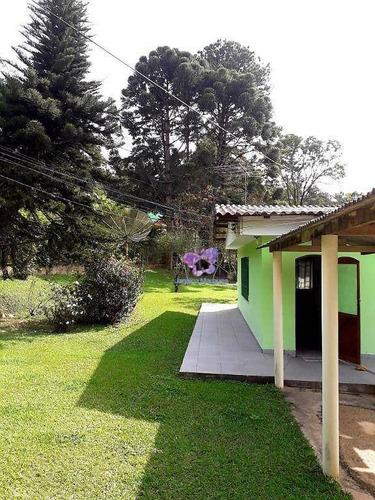 Imagem 1 de 17 de Chácara Com 3 Dormitórios À Venda, 2447 M² Por R$ 350.000,00 - Aracariguama - Araçariguama/sp - Ch0154
