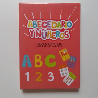 Cartas Didácticas C/actividades Abc Números Envío Caba