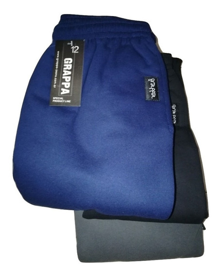 Pantalon Jogging Frizado Talle Especial T16-18