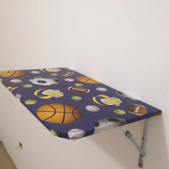 2 Mesas De Parede Dobrável 45x80 Cozinha ,quarto Criança