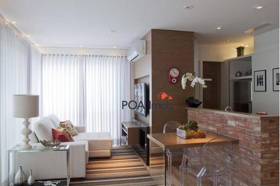 Apartamento Para Alugar, 72 M² Por R$ 5.500,00/mês - Três Figueiras - Porto Alegre/rs - Ap2709