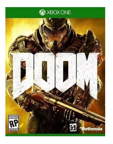 Doom | Xbox One Mídia Física