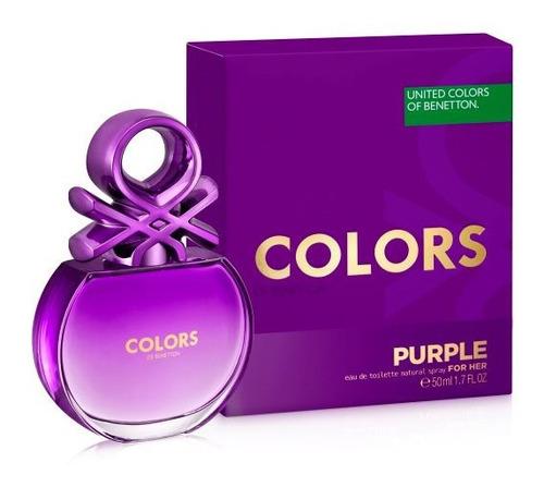 Benetton Colors Purple Edt 50 Ml
