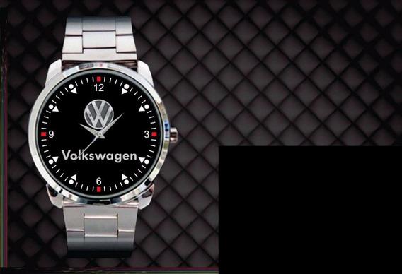 Relógio De Pulso Personalizado Logo Vw Volkswagen Volks 2018