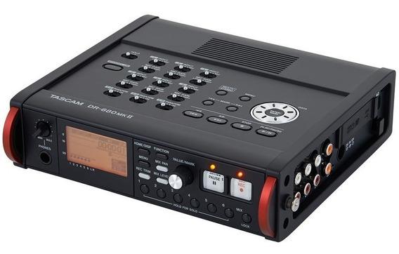 Gravador Tascam Dr680 Semi-novo
