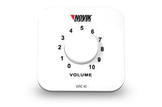 Control Volumen Instalacion Parlantes Novik Wrc-40 101db