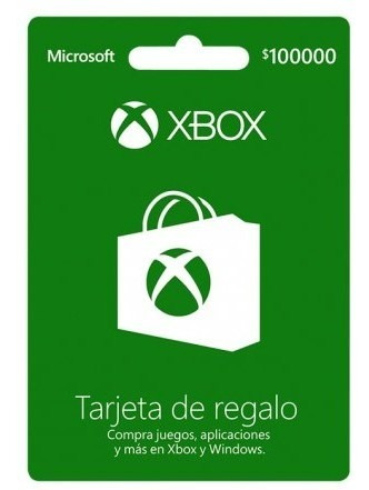 Xbox Tarjeta De Regalo 100k