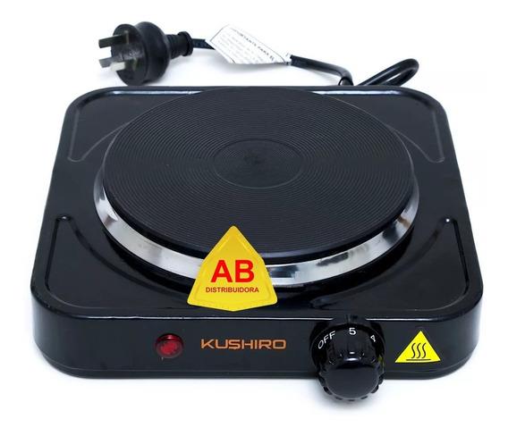 Anafe Electrico Hornalla 15cm Bajo Consumo Termostato 1000w