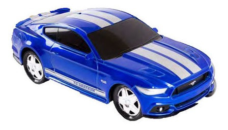 Auto Escala Rc 2015 Ford Mustang Hyperchargers 1:24 Jem 7622
