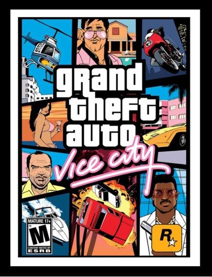 Grand Theft Auto: Vice City - Pc Mídia Digital + Jogo Grátis