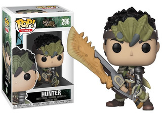 Funko Pop Game Monster Hunters Hunter 296