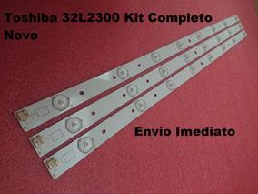 Kit Barra Led Toshiba 32l2300 Novo
