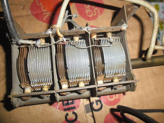 Capacito Variável Para Rádios Antigo 6 Seções 3x480 E 3x115
