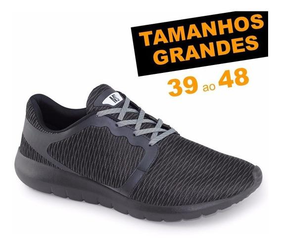 Tênis Ms Snake 4527 Numeração 44 45 46 47 48 Caminhada
