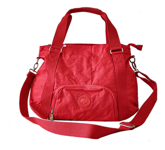 Bolsa Feminina Snoopy Sp3805 Coleção Be Sporty Vermelho