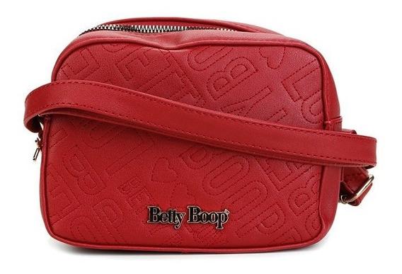 Bolsa Blogueirinha Betty Boop Retro Chic Vermelha 6902 Fashion