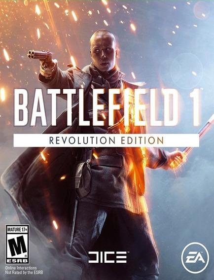 Battlefield 1 Revolution Pc - Origin Key (envio Já)