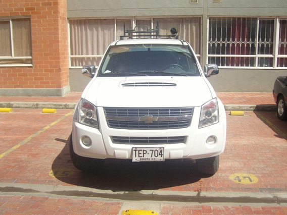 Chevrolet Dmax Doble Cabina 4x4 Diesel Blanca Placa Publica
