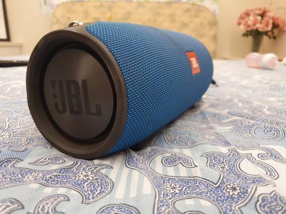 Caixa De Som Jbl Extreme Azul Original Semi-nova