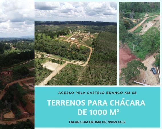 Terreno Plano 1000m² Em Mairinque, Ótima Localização