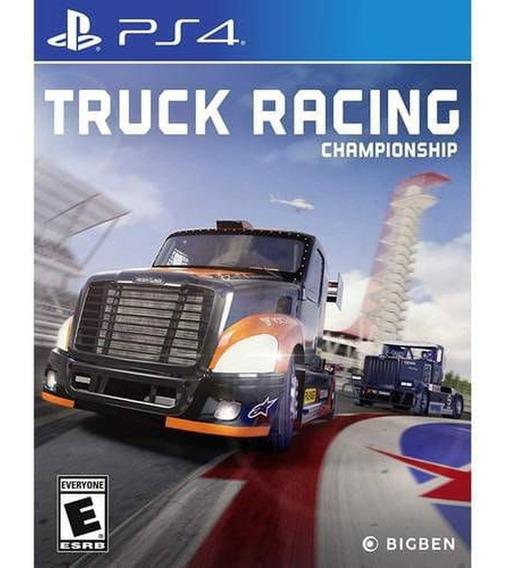 Truck Racing Championship Ps4 Mídia Física Novo