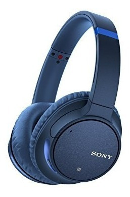 Imagen 1 de 6 de Sony Wh-ch700n Blue Audifonos Bluetooth Cancelación Ruido